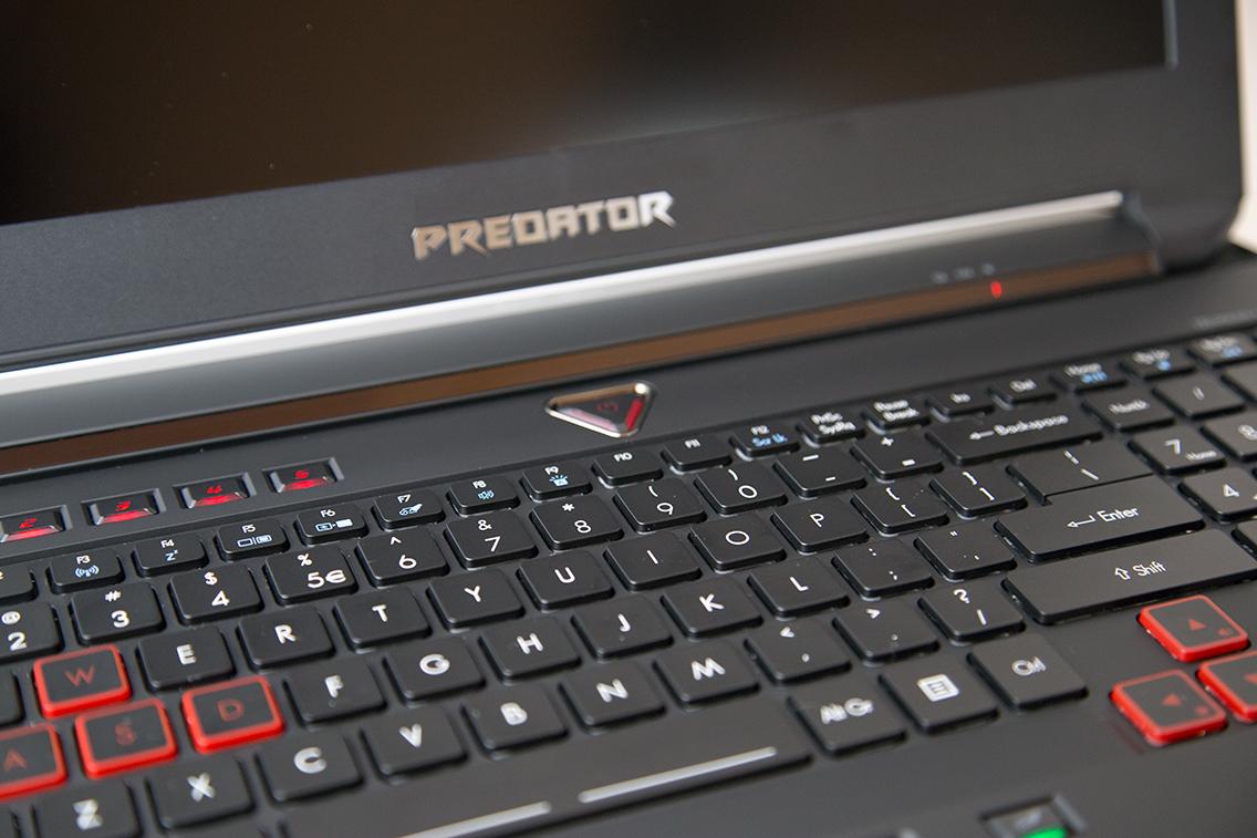 Acer Predator 15 - gaming keyboard