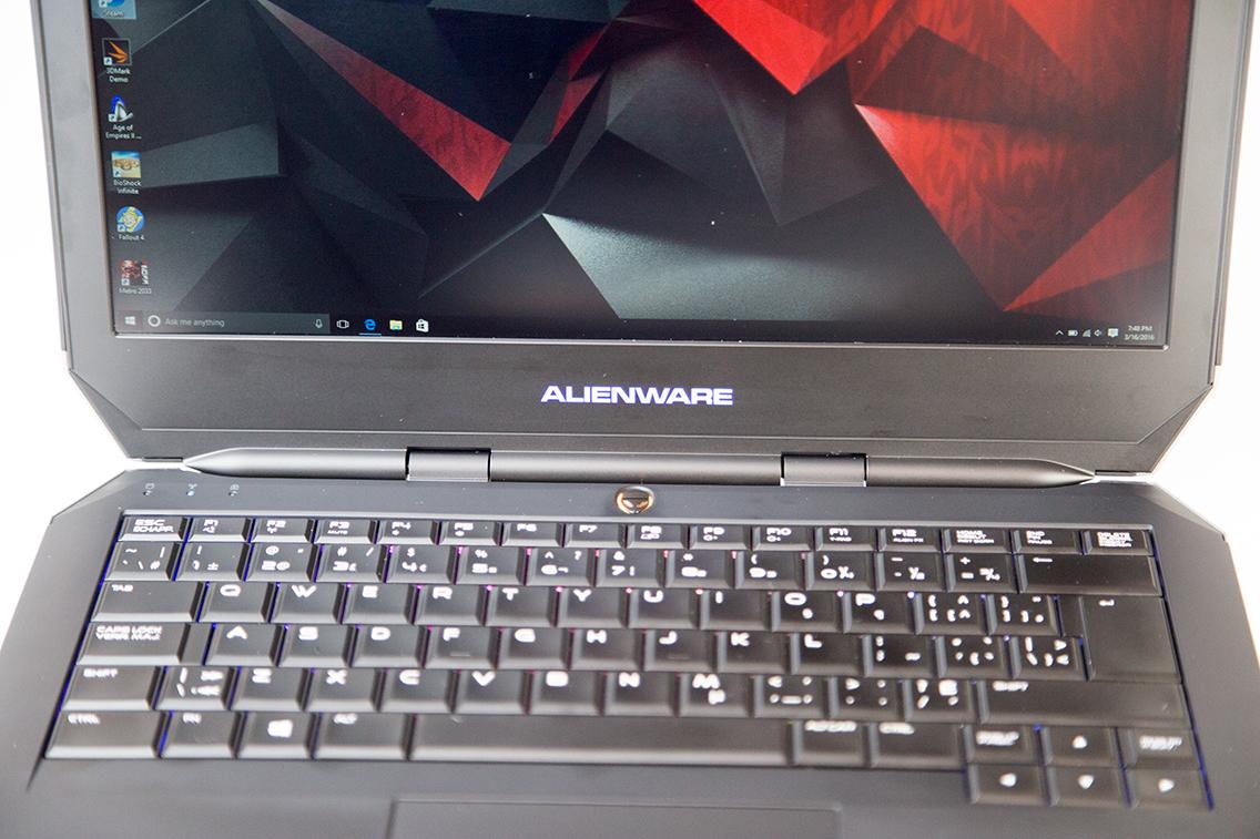 Alienware 13-keyboard